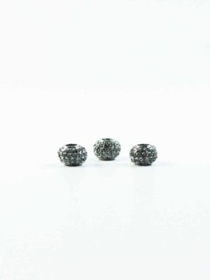 Alloy Crystal Spacer Charm Bead 1