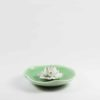 Lotus on Leaf Incense Burner (Green) 1