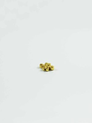 Micron Gold-plated Endless Knot Bead 1
