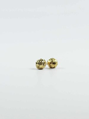 Mircon Gold-plated Lotus Shaped Beads 2