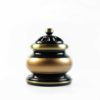 Black and Gold Incense Burner (Small) 1