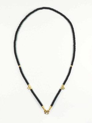 Coconut Shell Three Hooks Amulet Necklace with S Hook (69cm) 1