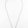 Stainless Steel Long Round Beads Chain One Hook Thai Amulet Necklace (69cm) 1
