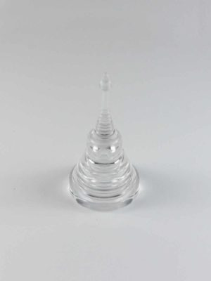 Acrylic Double Layer Tower Stupa (5.3cm) 2
