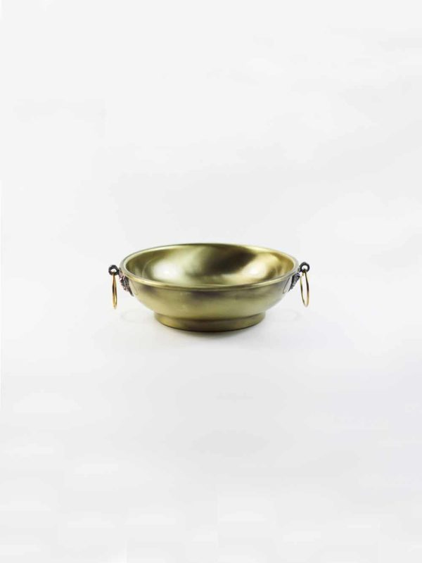 Copper Smoke Offering Burner Plate (Gold) 1