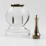 Crystal Sphere Short Stupa (Small) 4