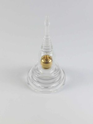 Glass Tower Stupa with Inner Brass Mini Stupa 2