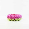 Clay Lotus Stand (7.5cm) 1