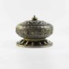 Eight Auspicious Symbols Incense Burner with Blue Stone 1