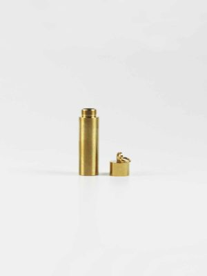 Gold-plated Stainless Steel Mantra Tube 2