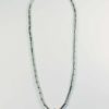 Stainless Steel Tube One Hook Amulet Necklace with Gold Beads (71.5cm) 1