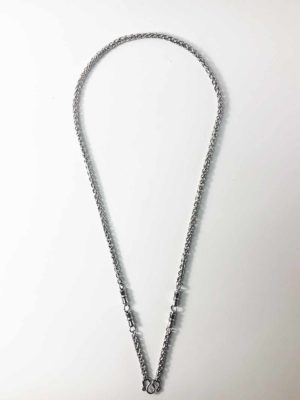Stainless Steel Rounded Chain Three Hooks Amulet Necklaces (71cm) 1