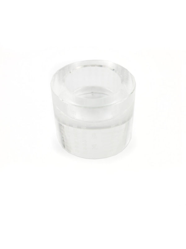 Engraved Great Compassion Mantra Crystal Candle Holder 2