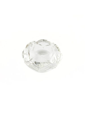 Lotus Glass Candle Holder 2