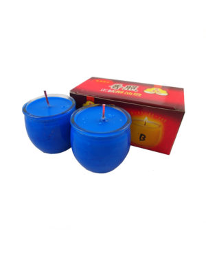 Shortening Candle Cup in Blue II
