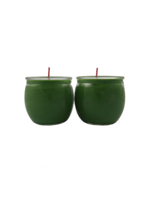Shortening Candle Cup in Green