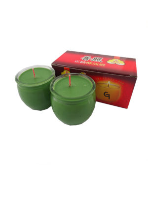 Shortening Candle Cup in Green II