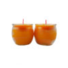 Shortening Candle Cup in Orange