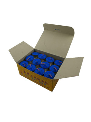 Tealight Shortening Candle in Blue (Box)