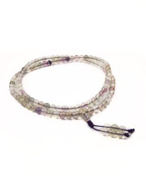 Flourite Mala 108 Beads (6mm) 2