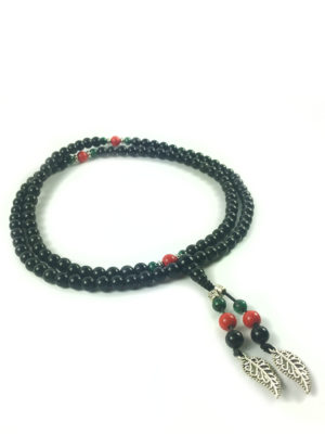 Black Obsidian Mala 108 Beads (6mm) 2