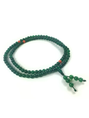 Green Agate Mala 108 Beads (6mm) 2