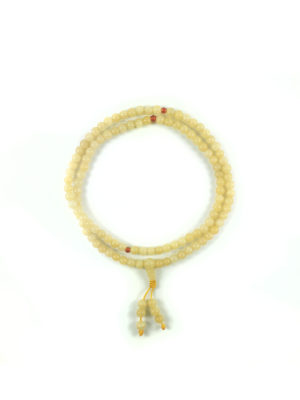 Yellow Topaz Mala 108 Beads (6mm) 1