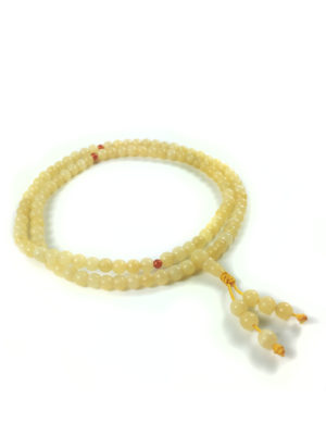 Yellow Topaz Mala 108 Beads (6mm) 2