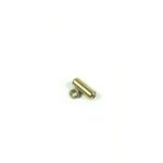 Gold-plated Stainless Steel Screw Clasp with Hook 1