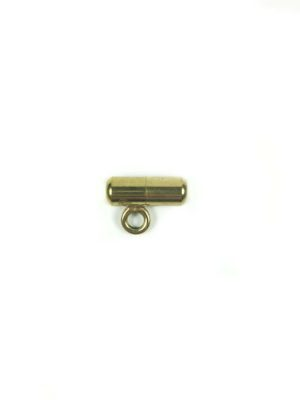 Gold-plated Stainless Steel Screw Clasp with Hook 2