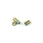 Gold-plated Stainless Steel Screw Clasp with Hook 4