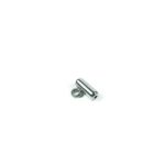 Stainless Steel Screw Clasp with Hook 1