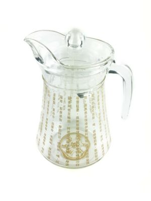 The Great Compassion Mantra Glass Jug 2