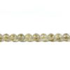 Six-syllables Mantra White Agate 10mm