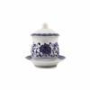 Blue Lotus Offering Cup with Lid 1
