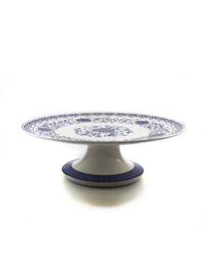Blue Lotus Porcelain Offering Plate 1