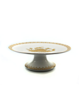 Gold Lotus Offering Plate 1