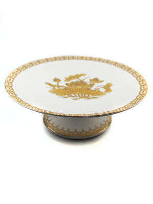 Gold Lotus Offering Plate 2