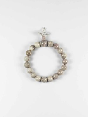 Grey Agate Bracelet (10mm) 1