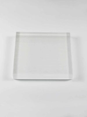 Acrylic Square Stand (12cm) 2
