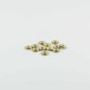 Gold-plated Flat Beads (8mm) 1