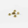 Gold-plated Wheel-shaped Beads 1