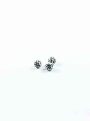 Diamonte Ball Beads (8mm) 1