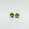 Micon Gold-plated Round Hollow Beads 1
