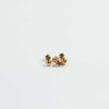 Micron Gold-plated Cut Edges Round Beads 1