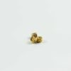 Mircon Gold-plated Cylinder Beads with Six-syllables Mantra 1