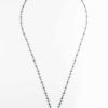 Stainless Steel Chandelier Chain One Hook Thai Amulet Necklace (69cm) 1