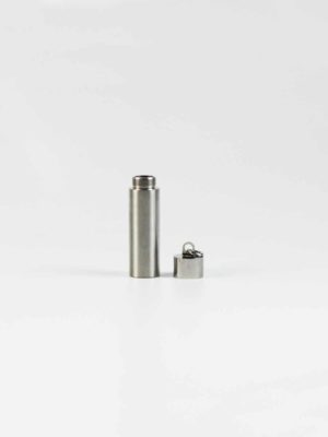 Stainless Steel Mantra Tube 2